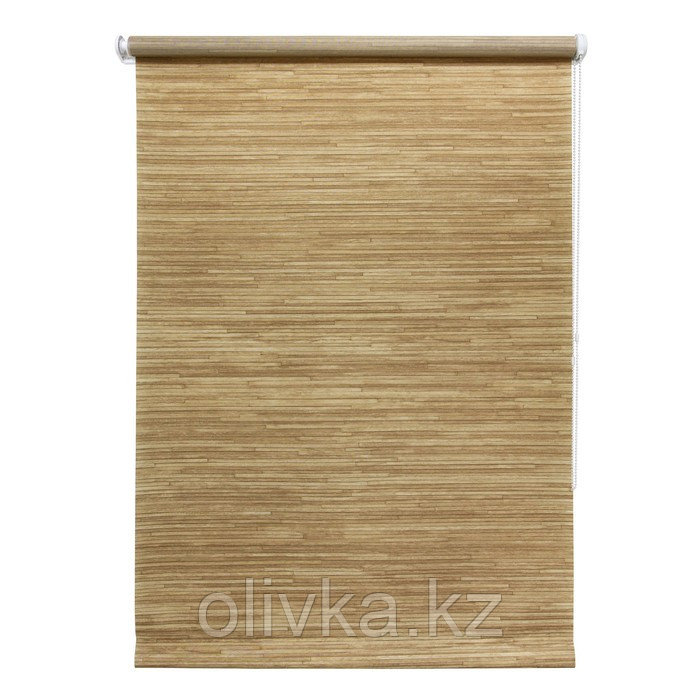 Рулонная штора «Натурэль», 50 х 175 см, цвет коричневый