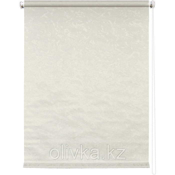 Рулонная штора «Фрост», 80 х 175 см, цвет светло-бежевый