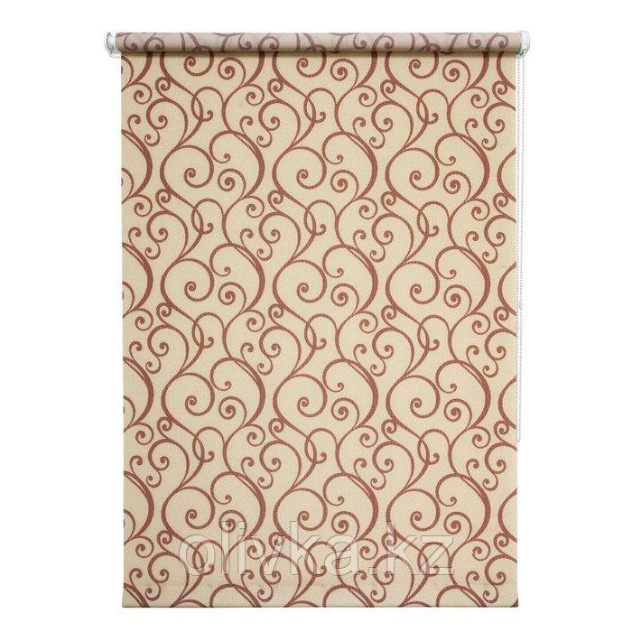 Рулонная штора «Ампель», 100 х 175 см, цвет бордо