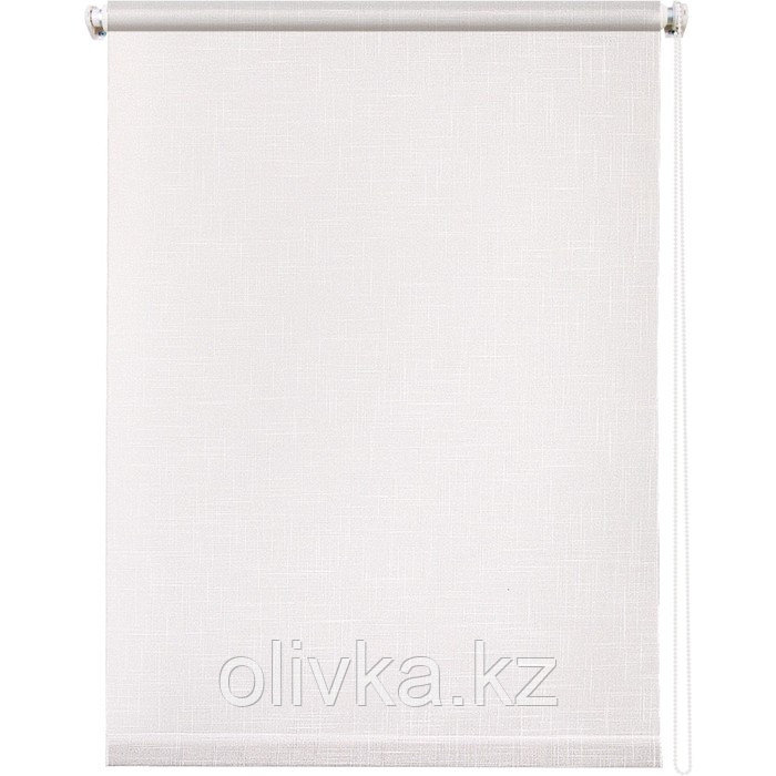 Рулонная штора «Шантунг», 160 х 175 см, цвет белый