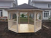 Деревянная беседка для частного дома, фото 1