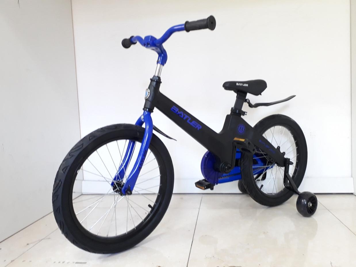 Детский велосипед Batler 18 колеса. Алюминиевая рама