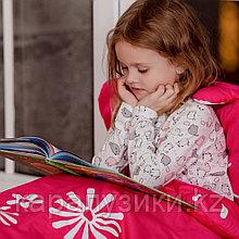Детский спальный мешок красный  слипик
