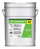 Масло KIXX GS Compressor P-46 (VDL-46) 20л. для винтового компрессора, фото 2