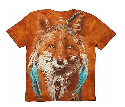 Детская футболка для девочек с принтом 3D «Рыжая лиса» в Алматы, фото 2
