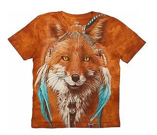 Детская футболка для девочек с принтом 3D «Рыжая лиса» в Алматы