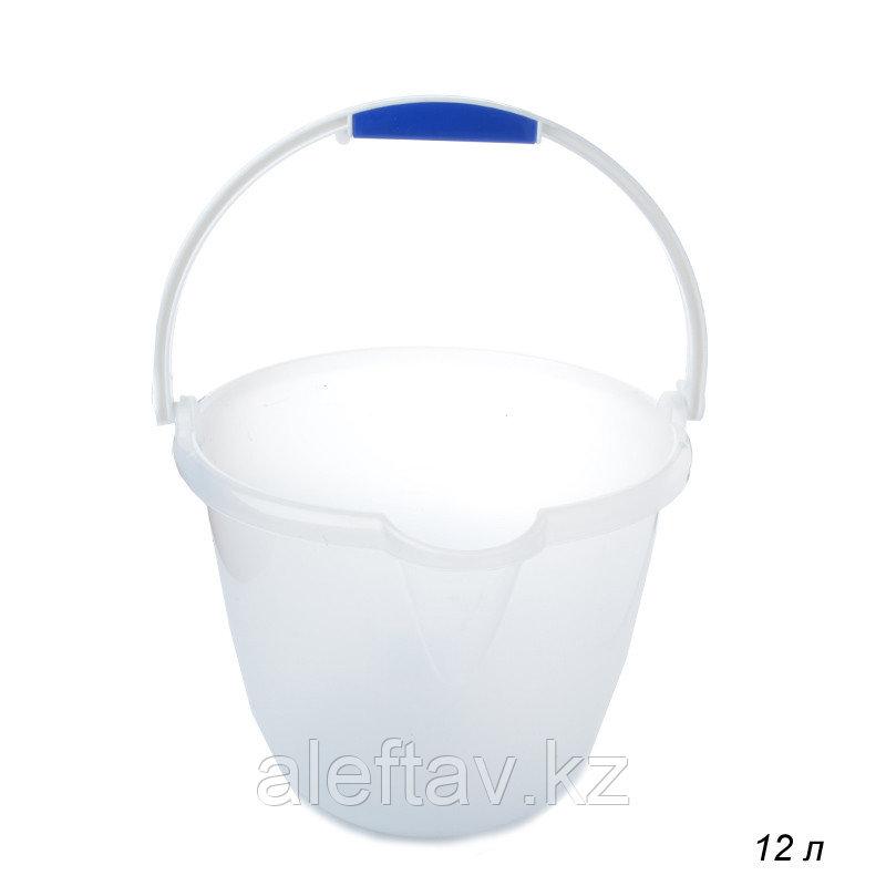 Ведро пластиковое с носиком 12литров