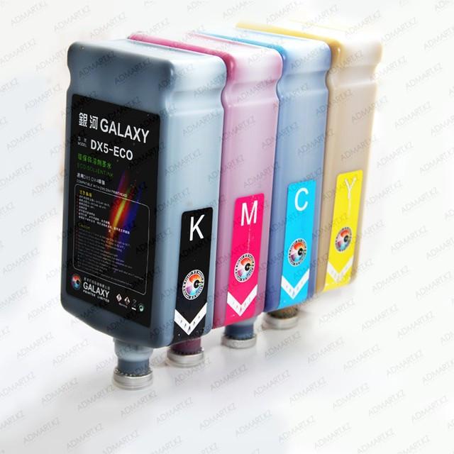 Экосольвентная краска Galaxy eco solvent DX5 Key (черный)
