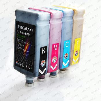 Galaxy DX5 K краска экосольвент 1л. (черный)