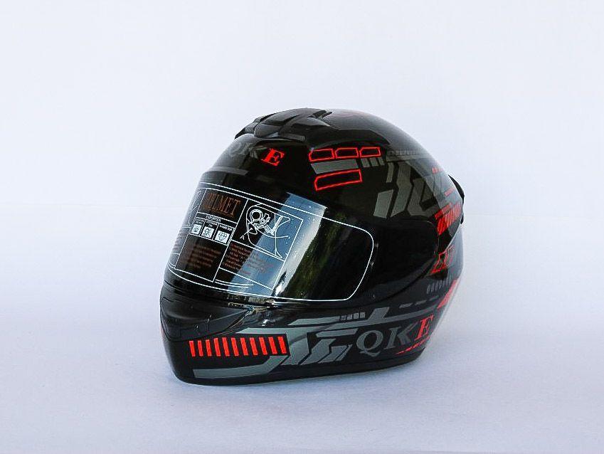 Мото шлем + дополнительный с защитой