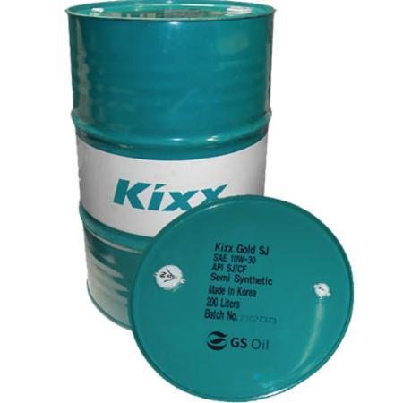 KIXX SJ 10W40 бочка 200л. полусинтетического моторного масла