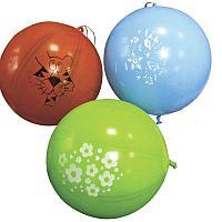 """Воздушные шары, 50шт., М12/30см, Поиск """"Оскорбительные шарики Для нее"""", 2ст. шелк, пастель+декор"""