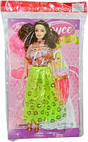 Q02 Барби с зонтиком на картонке в пакете 21*32
