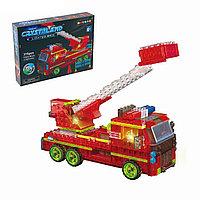 99031 Конструктор пожарная  машина светится 178pcs серия Crystaland 32*24