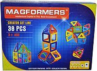 006A Magformers Башня магнитный конструктор 38 дет 26*35см