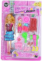 777 Кукла Beauty Барби с ребенком и аксессур. На картонке 44*23см