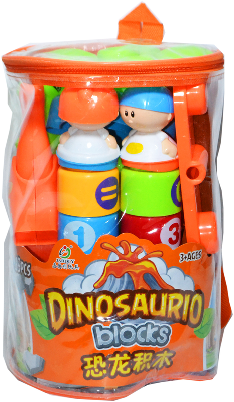 2276 Констр. Динозавр в рюкзаке мал. 19 дет. 26*19