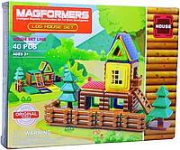 631 Магнитный констр. Строим дом Magformers 40pcs 37*29см