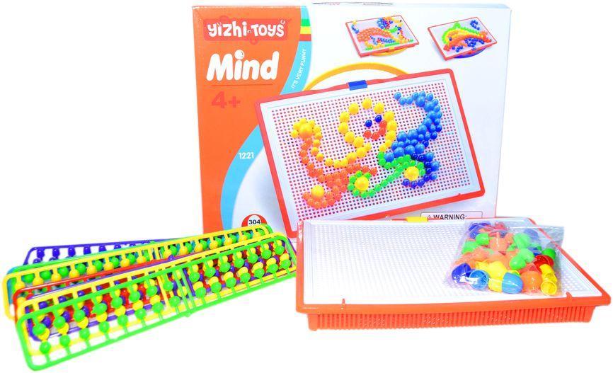 1221 Мозайка Yirzhi Toys Mind 304 деталей 28*36