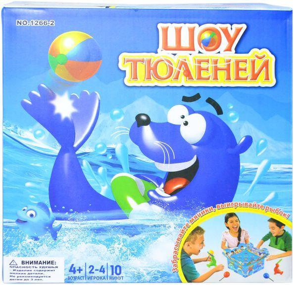 1266-2 Настольная игра Шоу Тюленей 28*28