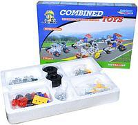 810А Металлический конструктор Combined Toys 236 деталей 25*35