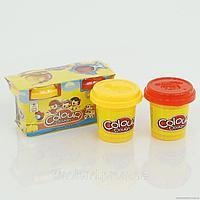 6603 Пластелин Colour Dough  цена за 1 баночки 7*13