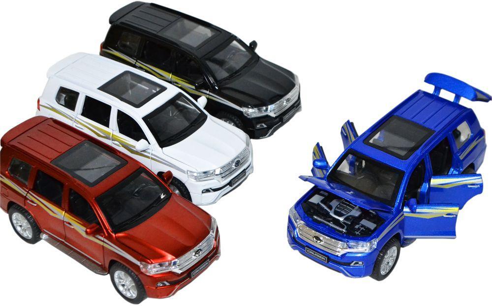 CZ061 Машина Toyota Land Cruiser 200 new из 12 шт 16*7 цена за 1 шт