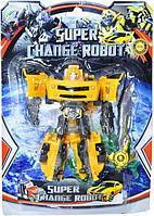 3-7 Трансформер Super Change Robot на картонке 2 вида 30*21