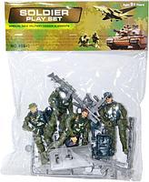 986-1 Набор солдаты с оружием Soldier Play Set  с аксессуарами в пакете 28*22