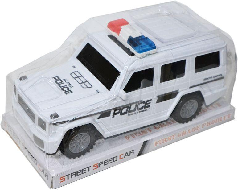 055-54 Геленваген джип полицейский инерц 17*14см