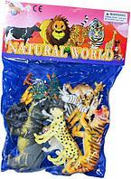 852-14 Дикие животные 12шт в пакете Natural World