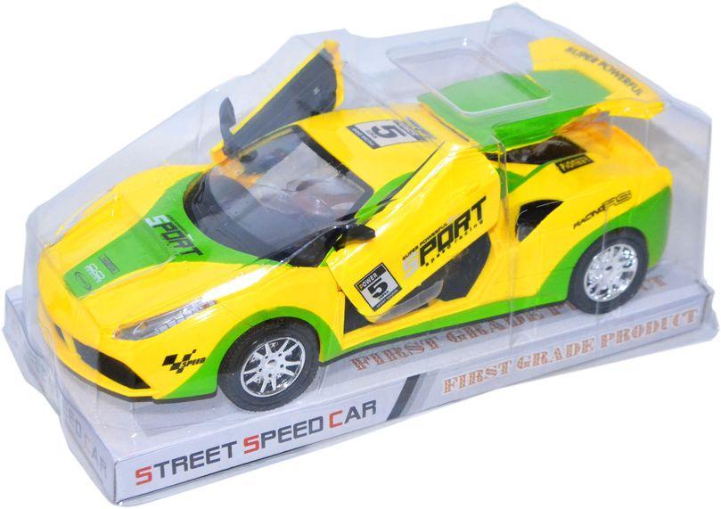 055-49 Спортивный ламборгини двери открываются Street Speed Car 27*11см