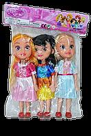 9257-2 Принцессы (28см) 3 куклы в пакете(качество) 30*21см