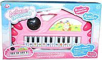 9021 Пианино 6 звуков животных 6 звуков транспорта,мелодия,цвета,цифры 27*16см