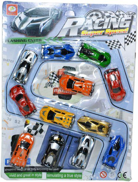 399-67B Racing Super Speed спортивная машина из 12шт цена за 1шт 39*29см