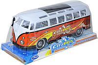 TQ123-56A City Bus автобус инерц 28*12см