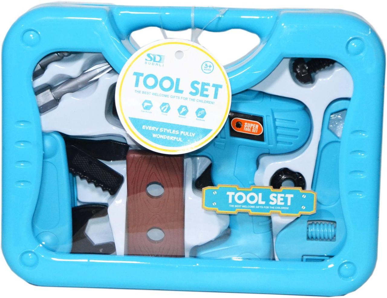 6619-1 Инструменты в чемодане Tool Set 20*27см