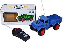 "111-1A ""Military police"" полицейский грузовик на р/у, 2 функции,11*21см"
