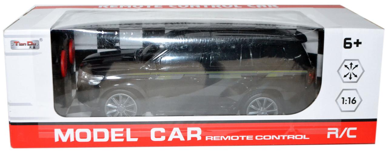 5002-13 Тойота Ланд крузер на р/у 4 функции, аккумулятор REMOTE CONTROL36*12см