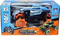 ZR2086 RACING CARS вездеход на пружинках на р/у,4 функции,аккумулятор,32*17см