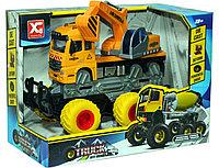Xg878-A62ABC Монстер-Строительный 6 колес,3 вида Truck OFFROAD, 24*18см, фото 1