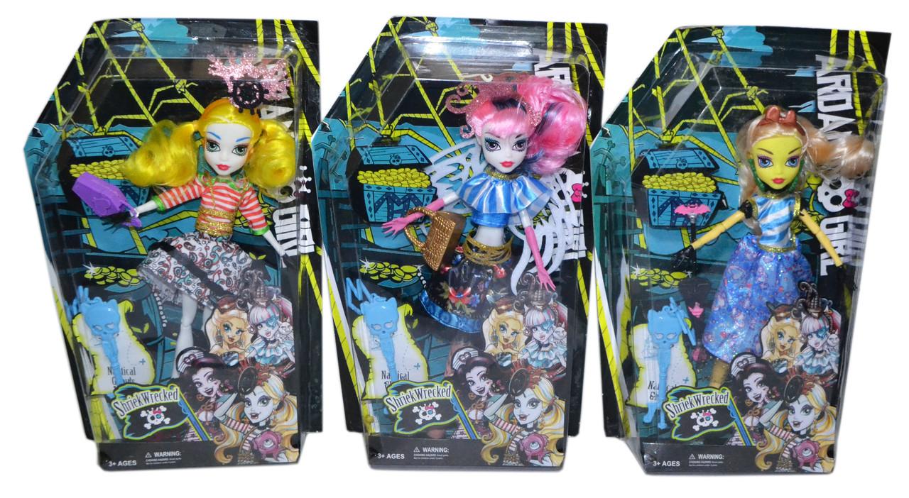 Dh2147 Ardana Girl Кукла в прозрачной упаковке (руки,ноги сгибаются) 33*21см