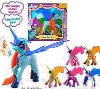 LY20015 Пони с крыльями, ноги сгибаются  26см
