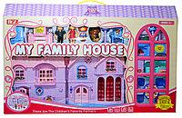80611 My family house Домик с мебелью 68*44см