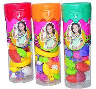 Mbk-300 Pop Beads бусы сделай себе браслет 4 вида из 12шт, цена за 1шт