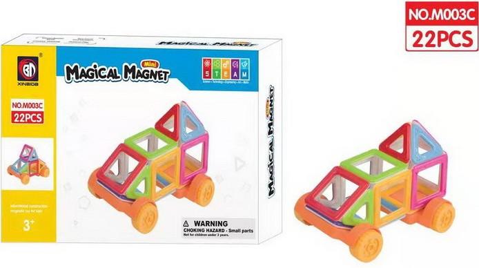 M003 Magical Magnet магнитный конструктор 22 детали 26*25см