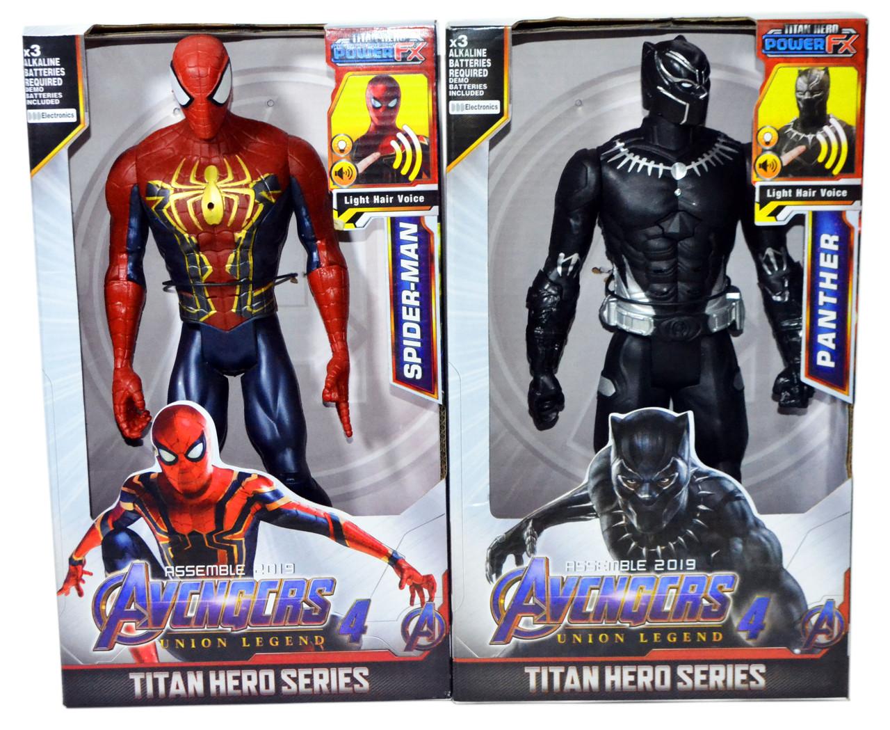 99808 Avengers 4 Titan Мстители разные герои 30*18см