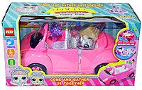 YM11-609 ЛОЛ на машине едет на пикник 31*17см