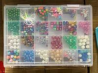 D17-010 Бусинки для украшений в чемодане (девочка) 28*19см, фото 1