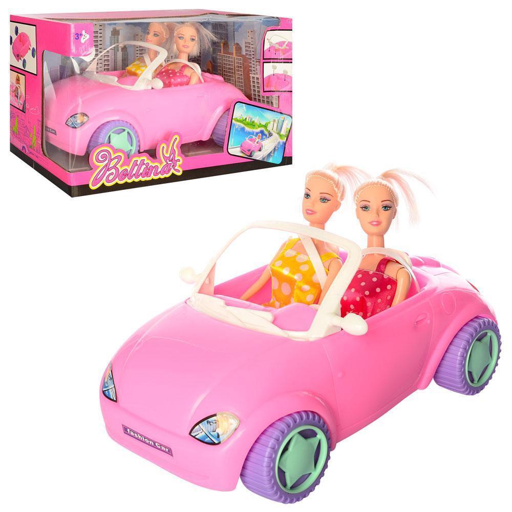 68086 Bettina 2 куклы на машине 34*20см